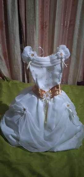 Vestido bautizo o pajecita
