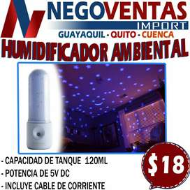 HUMIDIFICADOR AMBIENTAL