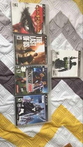 Vendo juegos de ps3
