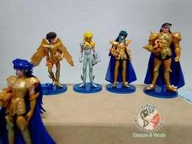 Figuras de los Caballeros del Zodíaco de 12 cm de alto NUEVAS