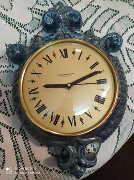 Reloj de cerámica vintage