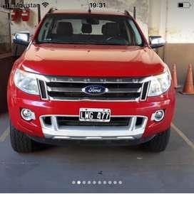 Vendo Ranger límite manual modelo 2012 3.24 × 4 impecable camioneta lista para transferir