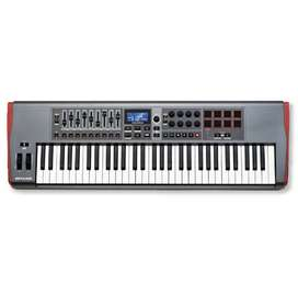 Teclado Controlador USB–MIDI Novation Impulse 61 –