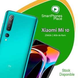 Xiaomi Mi 10 de 256Gb   8Gb de Ram   5G   Nuevo Caja Sellada   Garantía   somos Tienda
