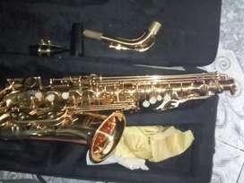 Hermoso saxofón alto