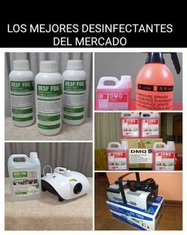 Virucidas DMQ  Desf-Fog