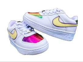 Tenis Nike AF1 - G4 Niñas
