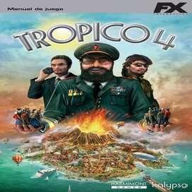 Juego Para Pc Tropico 4 Envio Gratuito