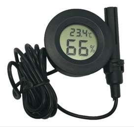 Mini Higrómetro Termómetro Digital Medidor Humedad Con Sonda