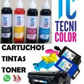 Venta de tinta para impresoras, tinta generica y original. Servicio Tecnico impresoras y Pcs. Venta de programas.