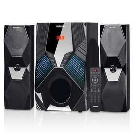 Parlante Bluetooth Micronics 2.1 Platinum 200w Usb Control