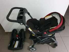 Coche Graco + silla automovil