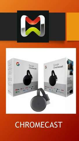 Chrome cast
