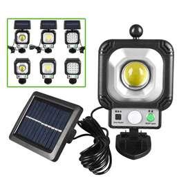 Lámpara LED con panel solar