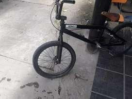 bicicleta bmx poco uso