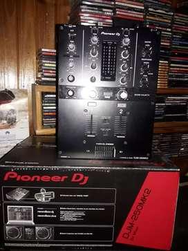 Mixer pioneer compactera doble