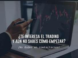 Queres aprender trading?