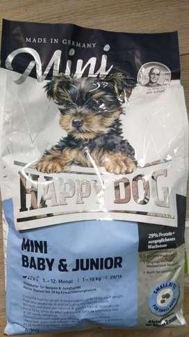 Happy Dog Cachorros Razas Pequeñas 4kg