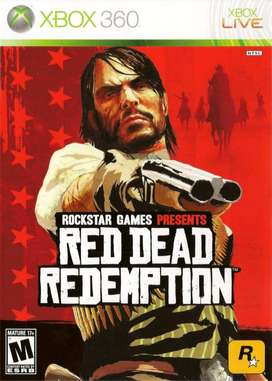 Red Dead Redemption 1 (xbox 360, Xbox One), Físico