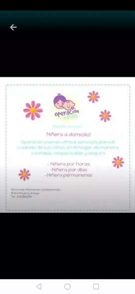 Soy Niñera certificada con experiencia.
