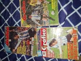 Revistas El Gráfico Antiguas muy buen estado