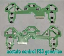 Acetatos ps3 genericos