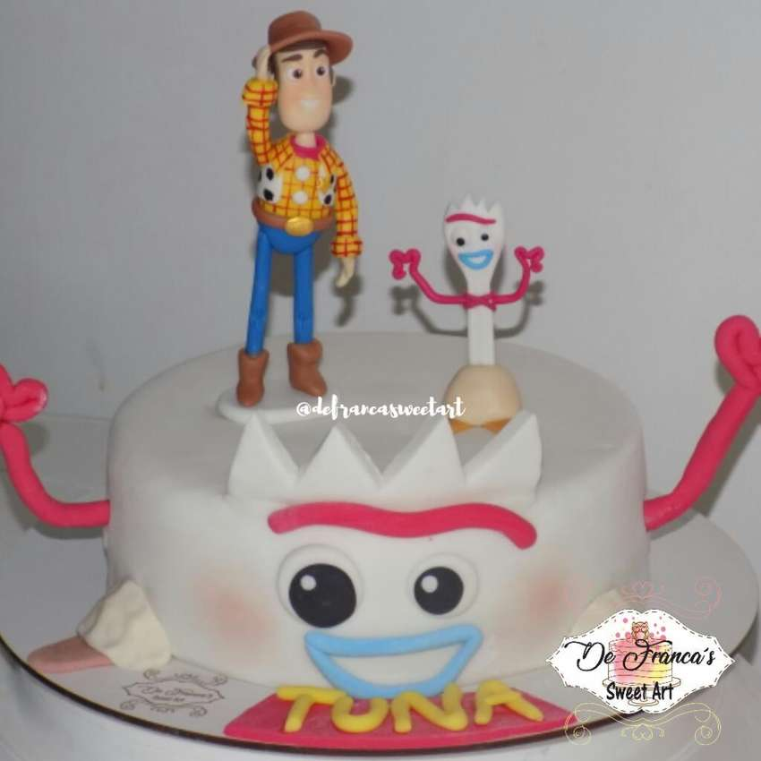 Torta Toy Story Forky Woody Cumple 0