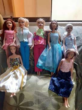 Muñecas Barbies y My scene originales