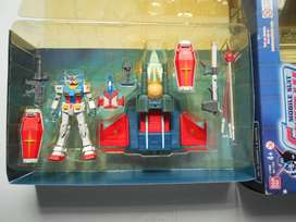 Gundam Mobile Suit Deluxe Edition Figure With Rx-78 & G-fighter 2001 B