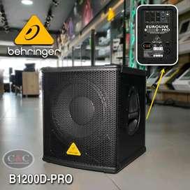 BAJO ACTIVO DE 12 PULGADAS 500W BEHRINGER B1200D-PRO
