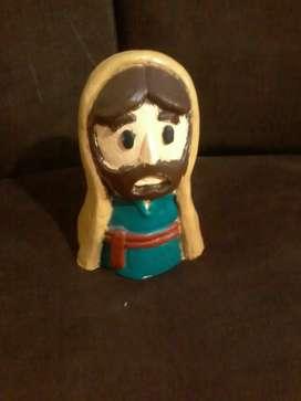 Se vende Mini escultura de Jesús hecha de yeso