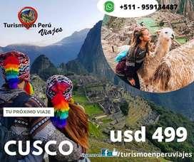 Paquete turistico en Cusco Peru