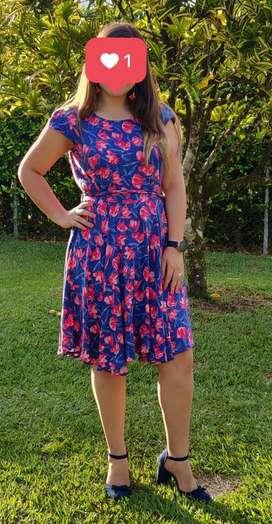 Vestido Johanna Cano de Flores