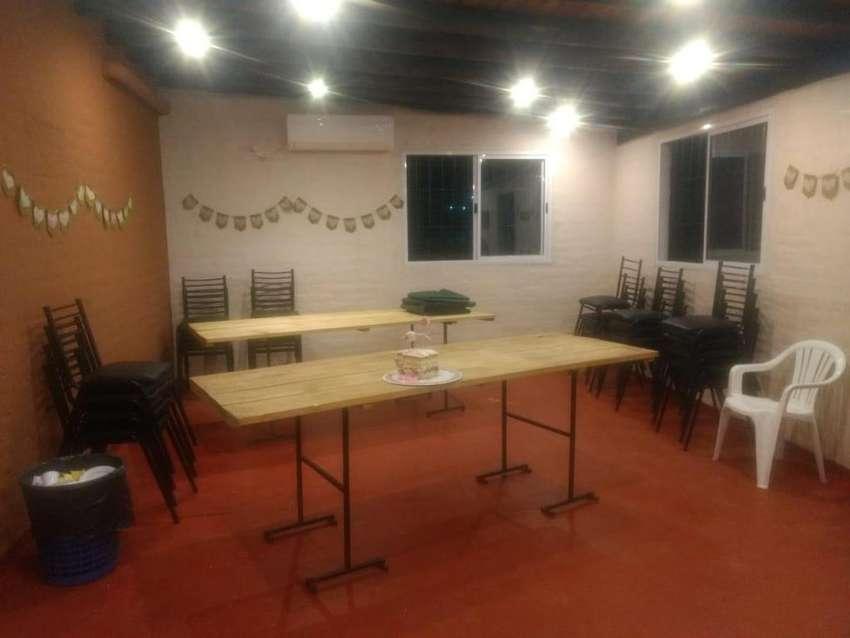 QUINCHO EVENTOS FIESTAS CUMPLEAÑOS BAUTISMOS CANCHAS DE FUTBOL 0