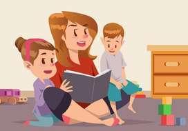 Ofrezco Servicio de Niñera y aprendizaje de ingles para niñ@s
