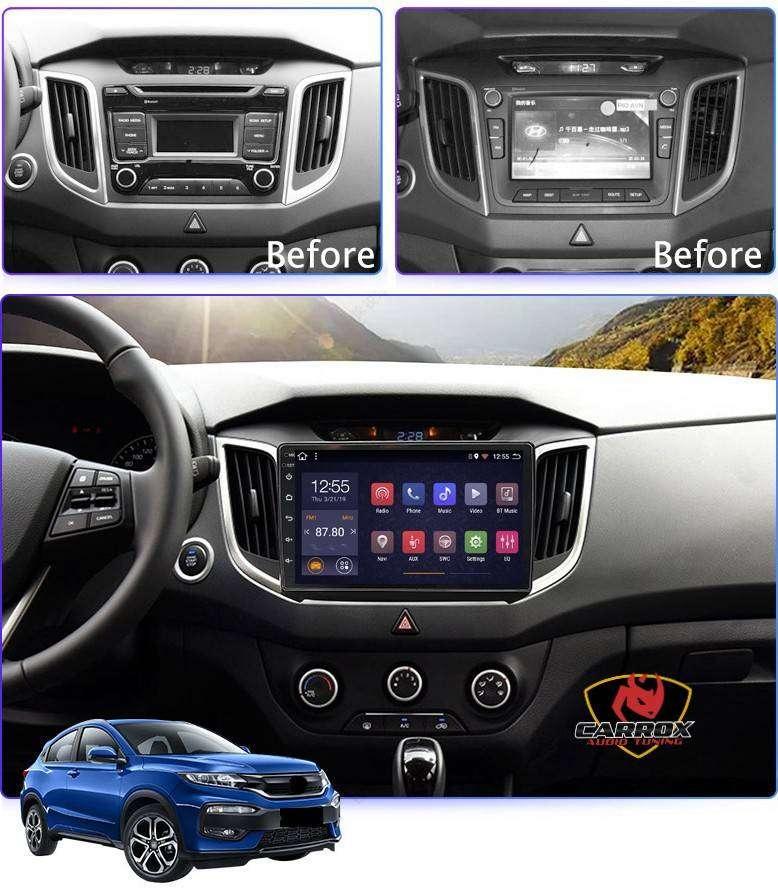 HYUNDAI CRETA 2014 2018 YOUTUBE ANDROID WIFI AUTORADIO CARROX PERU 0