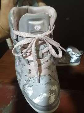 Zapatillas skechers niña talla 35 no nike adidas reebok puma