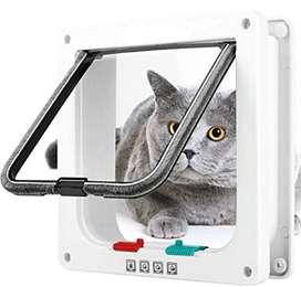 Puerta para gatos o perros pequeños