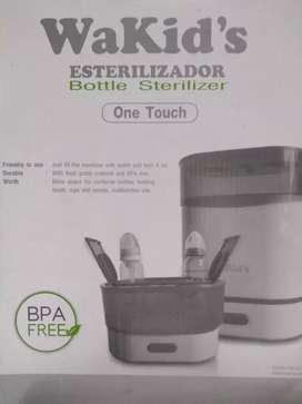 Calentador y esterilizador de 6 o más teteros