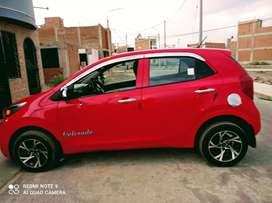 Vendo mi auto Kia picanto año 2018 modelo 2019