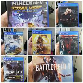 Juegos usados PS4 hoy