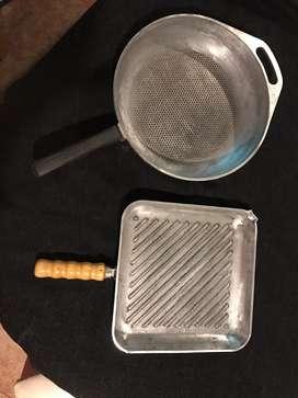 Bifera y sarten cuccina donna