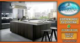 cocinas integrales, closet,muebles de baño puertas madera RH rh