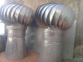 Extractores eólicos de techo