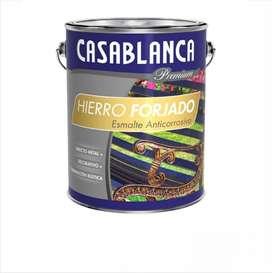 Casablanca Esmalte Hierro Forjado 4 Lts. Envió gratis