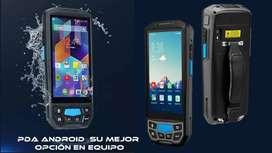 PDA Android Pos Terminal Barcode Escáner Multifuncional