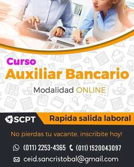 Estudiá Auxiliar Administrativo Bancario