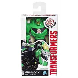 MUÑECO TRANSFORMERS ROBOTS IN DISGUISE GRIMLOCK HASBRO