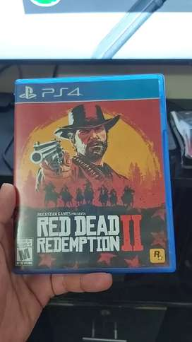 Red dead redemption 2 ps4 10 de 10