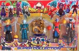 Dragon ball personajes coleccionable
